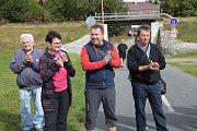 Ve Zruči nad Sázavou otevřeli nový úsek cyklostezky.