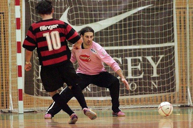 I. liga futsalu: Benago Zruč n. S. - Olympik Mělník 4:1, středa 17. prosince 2008