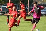 První kolo Poháru Okresního fotbalového svazu Kutná Hora: TJ Sokol Červené Janovice - TJ Sokol Kaňk 3:2 (3:2).