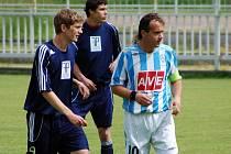 30. kolo I. A třídy: Čáslav B - Zeleneč, 19. června 2010.