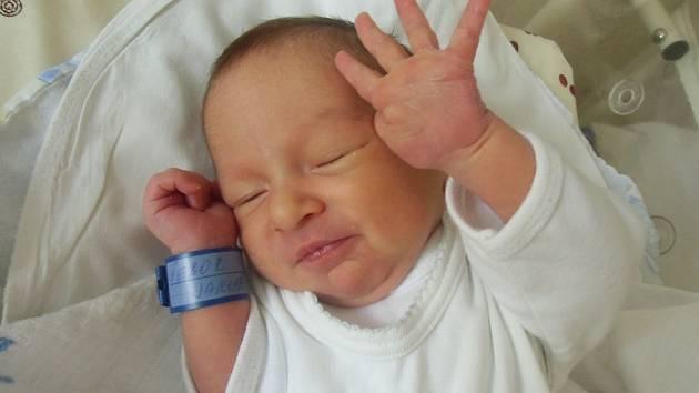 Jakub Šebor se narodil 9. dubna v Čáslavi. Vážil 3000 gramů a měřil 50 centimetrů. Doma ve Chvaleticích ho přivítali maminka Dana, tatínek Jakub a sestra Renata.