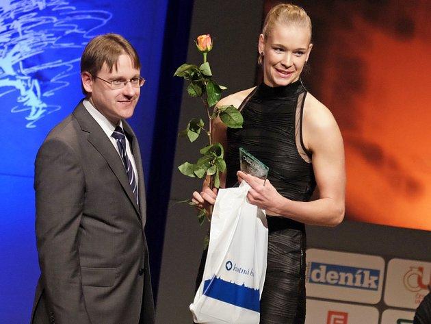 Aneta Morysková - cena starosty.