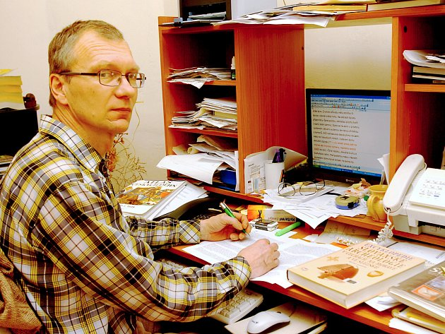Ředitel Muzea českého venkova Pavel Novák