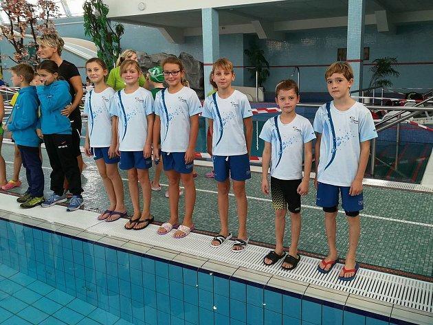 Nejmladší kutnohorští plavci přivezli z Kolína medaili.