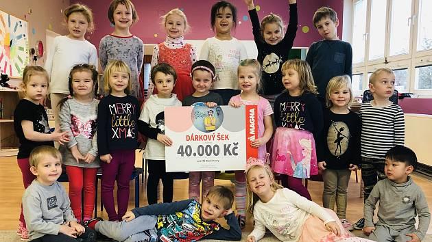 Mateřská škola v Nových Dvorech vyhrála příspěvek na keramickou pec.