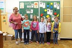 Základní škola Chotusice s třídní učitelkou s Dagmar Václavkovou.
