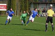 Zápas sedmnáctého kola okresního přeboru vyhrály Zbraslavice nad Chotusicemi 5:1.