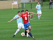 Fotbalisté Hlízova otočili duel s Pátkem z 0:2 na 3:2 gólem v 89. minutě zápasu, kdy se trefil hlavou Martin Výborný.