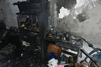Požár v Lorci v Kutné Hoře, 3. ledna 2017