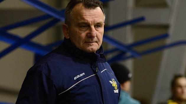 Trenér hokejistů Kutné Hory Stanislav Bednář.