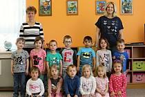 Mateřská škola ve Žlebech - třída Berušky.