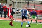 Česká fotbalová liga mladších žáků U13: FK Čáslav - FK Viktoria Žižkov 2:9 (1:2, 0:3, 1:4).