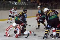 Z utkání druhé hokejové ligy Kutná Hora - Žďár nad Sázavou (1:5)