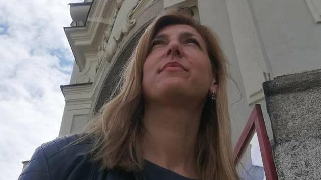 Redaktorka Kutnohorského deníku Hana Pilcová.