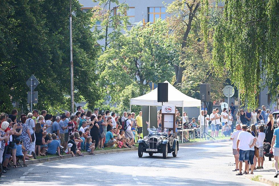 Z nedělního programu Veteran rallye v neděli 15. srpna 2021.