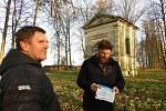 Z natáčení televizního pořadu 'Toulavá kamera' na Čáslavsku.