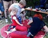 Druhý Sklenářův den přilákal rodiny s dětmi.