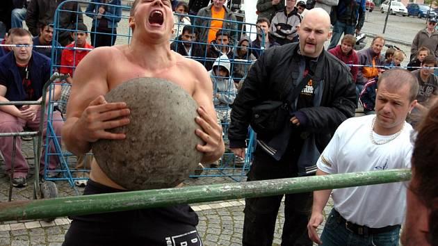 Strongmanfest 2009 v Čáslavi