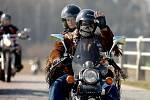 Zahajovací vyjížďka kutnohorských Royal Riders