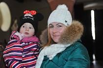 V sobotu 15. prosince bylo v kostele ve Vavřinci velmi živo. Důvodem byl vánoční koncert dětí z místní mateřské školy.