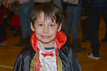 Z dětského karnevalu v Suchdole
