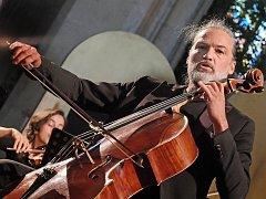 Mezinárodní hudební festival Kutná Hora 2018: violoncellista a tvůrce festivalové dramaturgie Jiří Bárta.