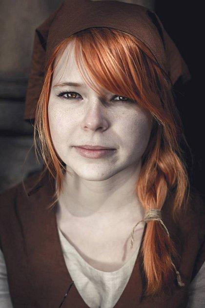 Šermířka Kristýna Zinková
