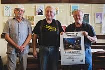 Unikátní výstava kreslířů karikaturistů téměř z celého světa Svobodní lidé - Kýchání mozku v Ratajích nad Sázavou v Klubu Čtrnáctka.
