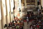 Sluneční paprsek ozářil sedleckou katedrálu. Jaro je tu!