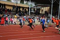 V Kutné Hoře se konal Přebor Středočeského kraje mladších žáků v atletice.