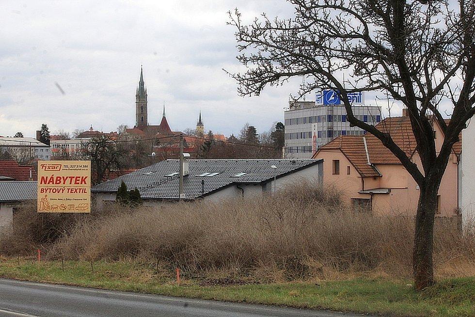 Čáslavská lokalita Budín.
