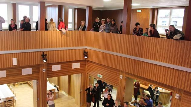 Slavnostní otevření sálu hotelu Grand v Čáslavi