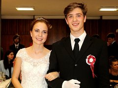 Tanečníci kurzu B z Taneční školy Antonína a Jany Novákových ukončili taneční věnečkem.