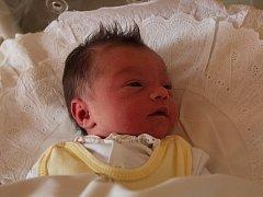 Nela Nagyová se narodila 20.září v Čáslavi. Vážila 3260 gramů a měřila 51 centimetrů. Narodila se mamince Anetě a tatínkovi Martinovi. Přivítají ji doma v Křeseticích.