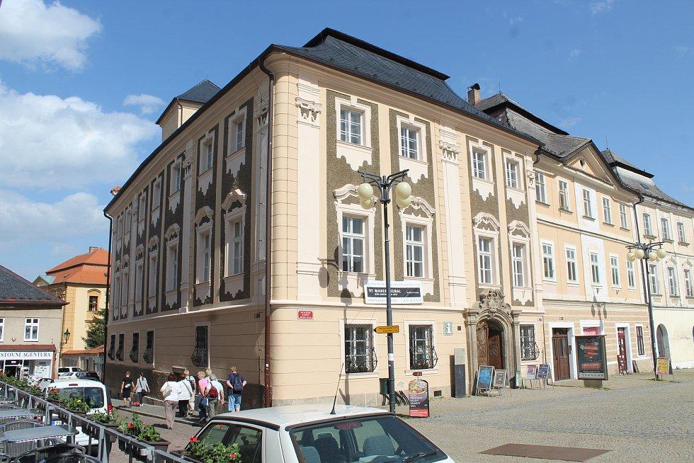 Sankturinovský dům v Kutné Hoře.