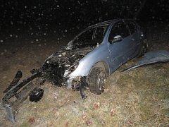 Dopravní nehoda u Slavošova
