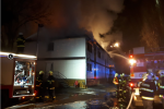 Jedenáct jednotek vyjelo k požáru ubytovny v kutnohorské části Sedlec 1.ledna 2021 ve večerních hodinách.