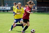 III. liga žen: Uhlířské Janovice - Kutná Hora 2:4, 22. května 2011.