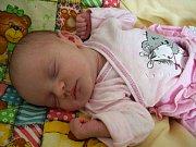 Kateřina Šabatová se narodila 7. srpna v Čáslavi. Vážila 2850 gramů a měřila 49 centimetrů. Domů do Vrdů si ji odvezla maminka Barbora, tatínek František a sestřička Barča.