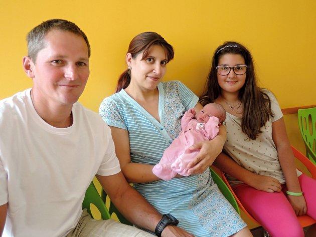 Natálie Gondeková se narodila 17. července v Čáslavi mamince Elišce a tatínkovi Petrovi. Vážila 3000 gramů a měřila 51 centimetrů. Doma ve Svatém Mikuláši jí netrpělivě očekává její dvanáctiletá sestřička Gabča.