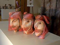 Výstavu s názvem Řezby a akvarely můžete v Zámecké galerii vidět až do 30. června