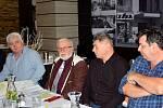 Setkání starostů města a obcí sdružených v Mikroregionu Čáslavsko v prostorách Nové scény Dusíkova divadla v Čáslavi.