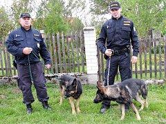 Policisté při pátrání po pohřešovaném muži na Zbraslavicku.