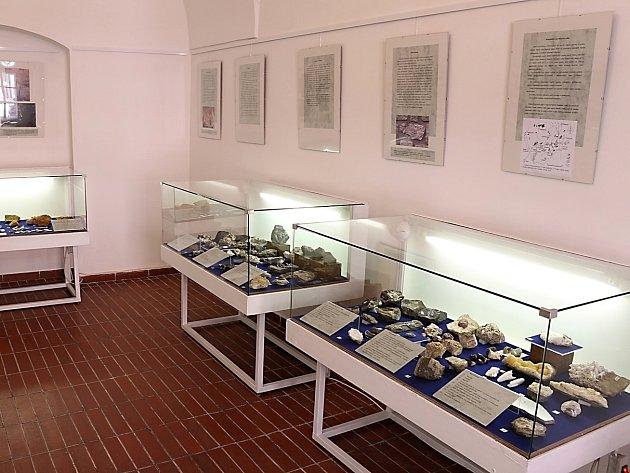 Výstava Geologie Kutnohorska v Tylově domě