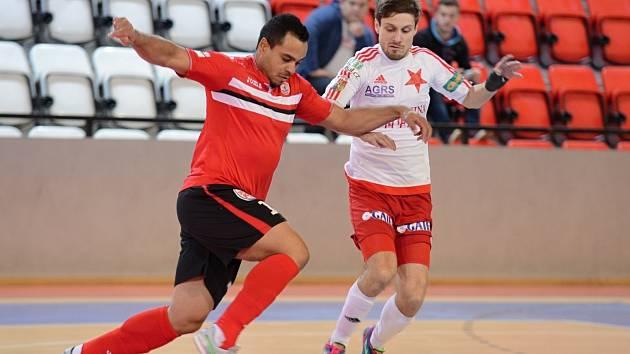 V semifinále play off Chance futsal ligy se Benago Zruč nad Sázavou střetne se Slavií Praha.