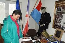 Anita Moravec Gard na návštěvě u Oldřicha Skaláka.