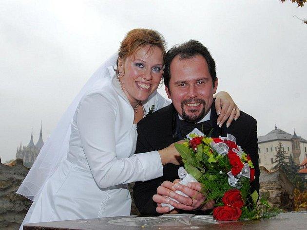 Martin Šourek a Šárka Zlatohlávková