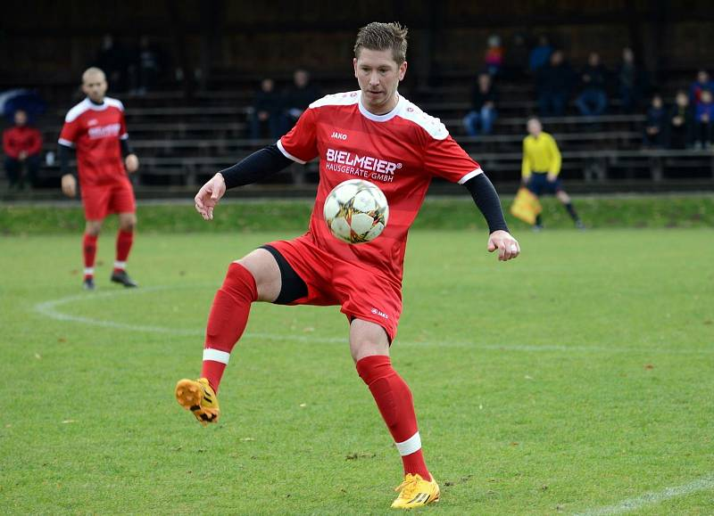 Fotbalista Jakub Süsser hraje v Německu za Bad Kötzing. Foto: FB Bad Kötzing