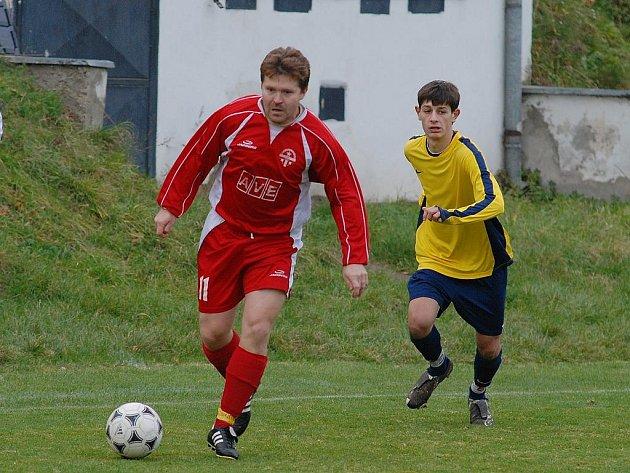 Fotbal I. B třída: Tupadly - Radim 2:1, neděle 8. listopadu 2009