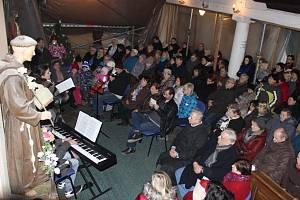 Vánoční koncert v kostele v Záboří nad Labem